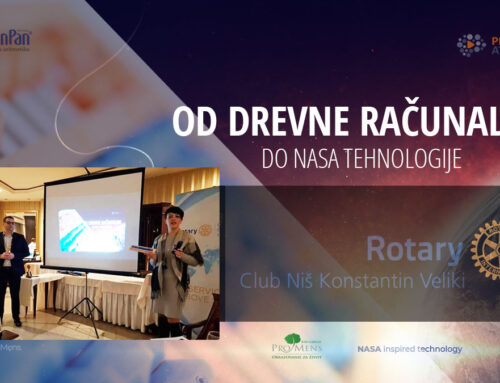 O računaljkama i NASA tehnologiji u Rotari klubu Niš Konstantin Veliki